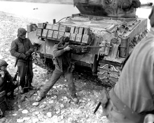 M1918 Browning Automatic Rifle (BAR) seeing service during the Korean War.