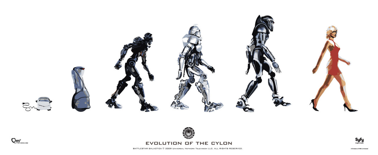 EVOLUTION OF THE CYLON