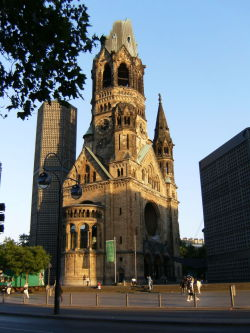Kaiser Wilhelm Memorial Church, Berlin, Germany Photo by ADL