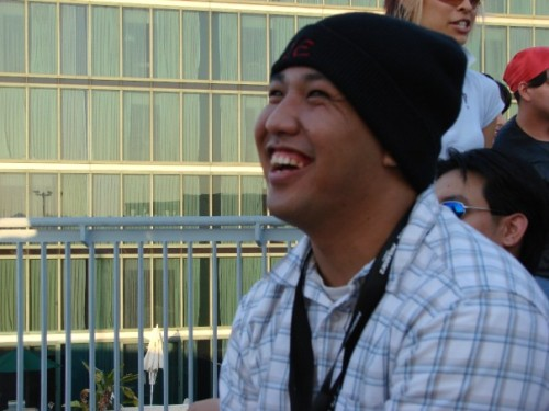 Why am I so happy here? Rey-Rey circa 2006. Oh, hey, Tumblr. It's been a while.