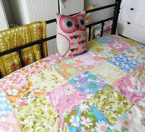 patchwork blanket (by Teawagon)