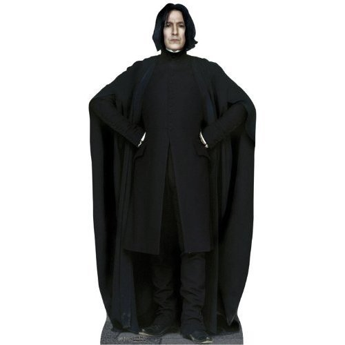 Cardboard cut-out Professor Snape knows you masturbate and does not approve. If you're into that sort of thing you can purchase a Snape to watch you sleep here.