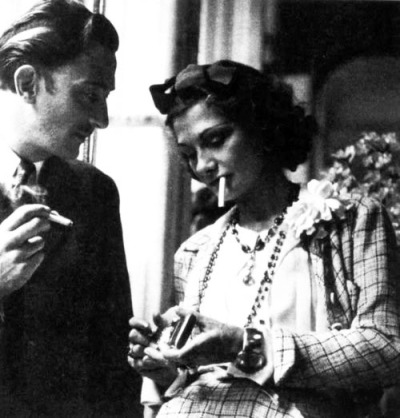 salvador dali and coco chanel. have we enough to keep it together.