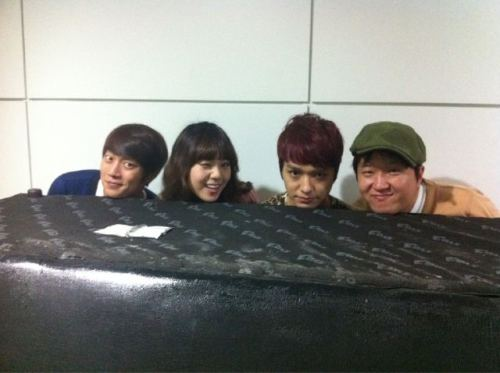 DooJun met them coincidentally~ ^o^