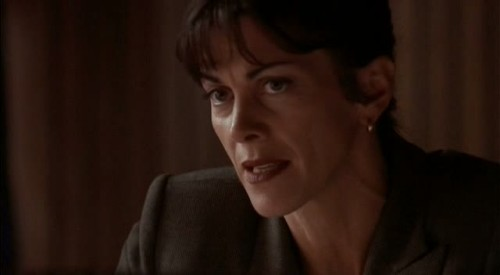 werentyouonxfiles:Wendie Malick, who had reoccurring roles in a variety of shows: Just Shoot Me, Fraiser, and Hot in Cleveland to name but a few!Season 6, Episode 1: The Beginning (1998)