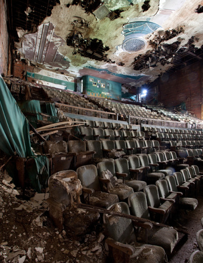 Abandoned Theatre, Ohio