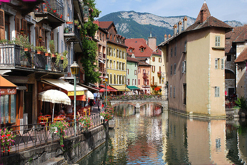 I want to go to there. allthingseurope:  Annecy, France  (by yvon Merlier )
