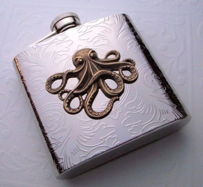 Octopus flask Submitted by Kt