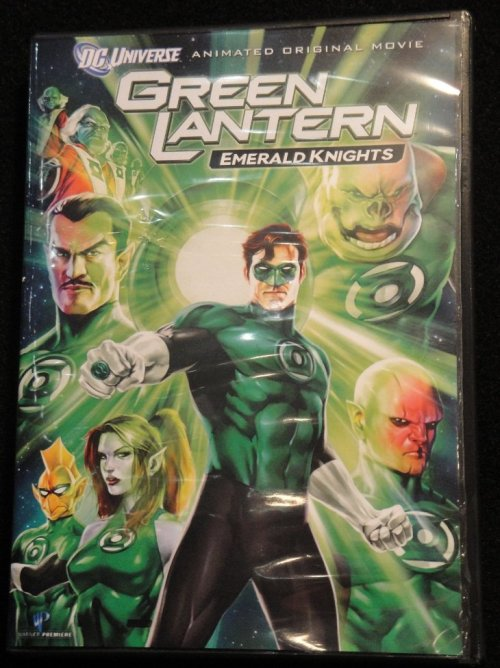 Watching Green Lantern Emerald Knights in preparation of the Green Lantern movie.