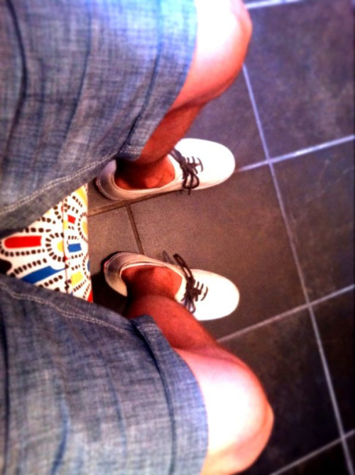 Shorts and Vans. The very best thing about summer.