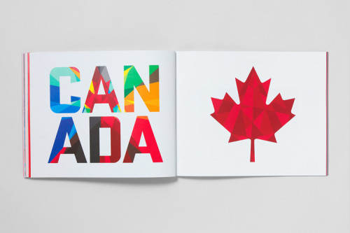 Beautiful new identity for the Canadian Olympic Team, inspired by the maple leaf. More at Co.Design