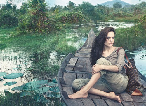 Angelina Jolie's 'Core Values' for LV