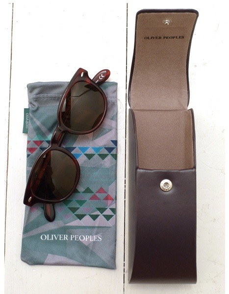 Oliver Peoples Rad Havana sunglasses via SLAMxHYPE