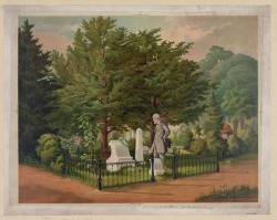 General Lee's Last Visit to Stonewall Jackson's Grave, Lexington VA, 1872 by Louis Eckhardt. Painted two years after the death of Lee himself in Lexington.  Now a large statue of Jackson marks his grave.