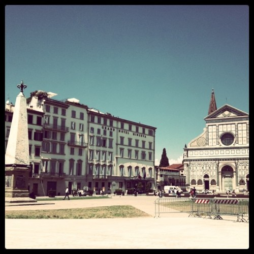 Santa Maria Novella (Taken with instagram)