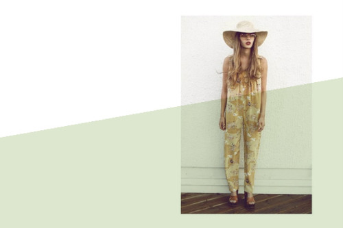 How to wear a jumpsuit and get away with it… demonstrated here, perfectly by tba. Meet ZOE