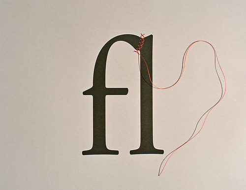9-bits:  How to Create a Ligature: String (by David Schwen)
