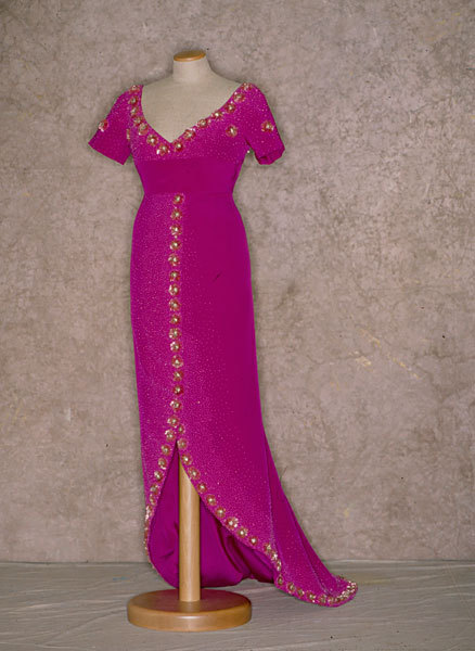 Evening dress, ca 1962, Tirelli Costumi