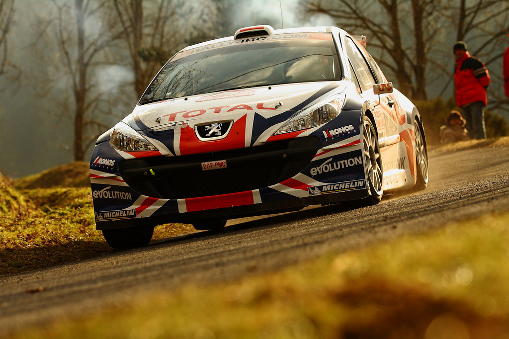 A Blast Peugeot 207 S2000 Photo taken by Gergely Patko at the 2011 Rally Monte Carlo