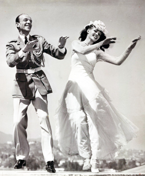 "Fred Astaire and Rita Hayworth from the film ""You Were Never Lovelier"" 1942"