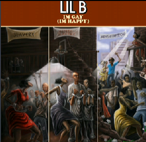 "Lil B ""I'm Gay"" Album Cover."