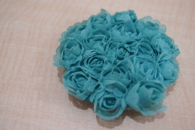 #131 Little Turquoise Flower Corsage IDR 25.000 Please contact or ask us via Tumblr for further informations. ♥