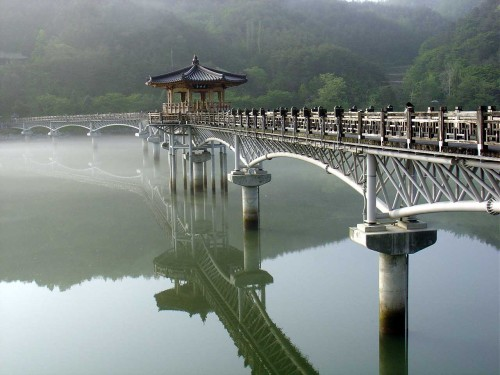 Beautiful moon bridge in Japan (via Amazing Japan's Moon Bridge (PIC) | Akademi Fantasia Travel)