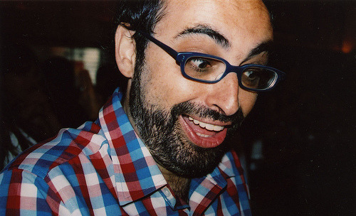 Gary Shteyngart wants to name a character in his next novel after you. And that character is a dog. Gary's publisher, Random House, has cooked up the Super Happy Bookloving Dogs contest. To enter, take a photo of yourself and a dog reading Super Sad True Love Story and email it to bluestone at randomhouse dot com. Gary will select the winner himself, and boom! A soon-to-be-critically-acclaimed fictional pooch has your name. Fine print found here, and just for kicks, post your photos here on Tumblr too, with the tag #superhappybookdog. Good luck!