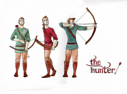 My hunter from my final major project for my foundation course. Got the result today, I got a distinction. :D