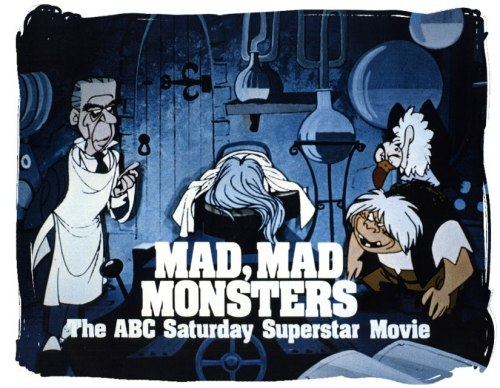 Rankin-Bass Productions follow up to Mad Monster Party - Mad, Mad, Mad Monsters (1973) coming to DVD July 12th.
