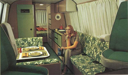 modcloth:Motorhome Sweet Home: Mobile Pads From the Past