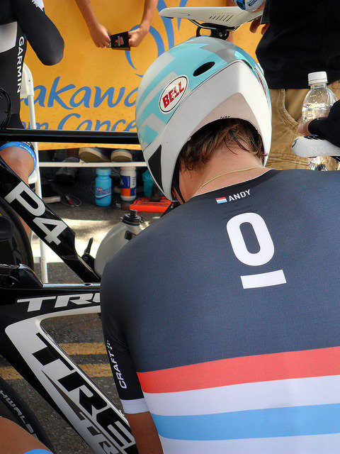 ATOC 2011 TT Andy Schleck by Jean Pickard Art on Flickr.