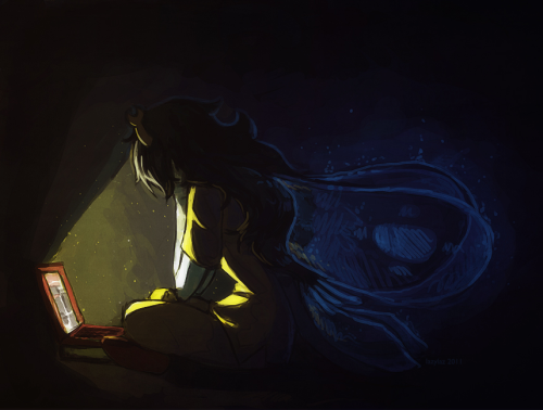 lazylaz:  color practice of Vriska with feelings and stuff /latetoparty