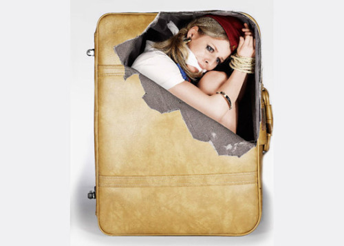 Suitcase Stickers: lol