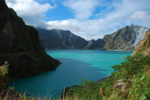 Mount Pinatubo Crater Tri-Cabusilan Mountain Range