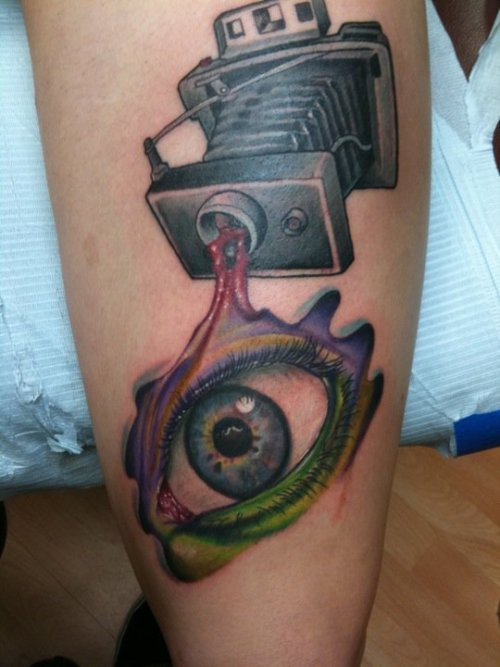 fuckyeahtattoos:  done by White Trash Matt- www.LowTideTattoos.com  Facebook.com/LowTideTattoos www.Facebook.com/WhiteTrashMatt