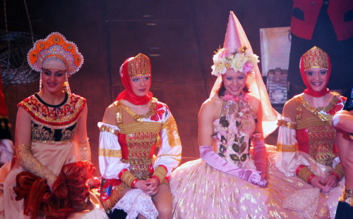 Russian circus princesses