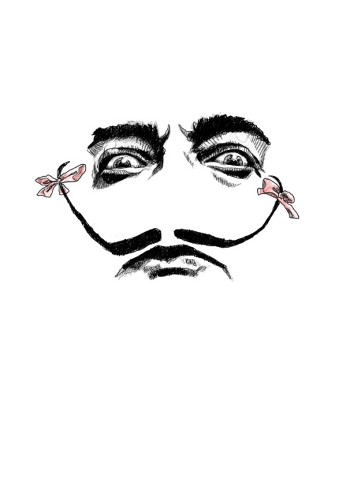 illustratedbyem:  Celebrity of the week: Salvador Dali
