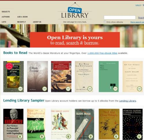 warebooks:  Open Library is a project of the non-profit Internet Archive, and has been funded in part by a grant from the California State Library and the Kahle/Austin Foundation.