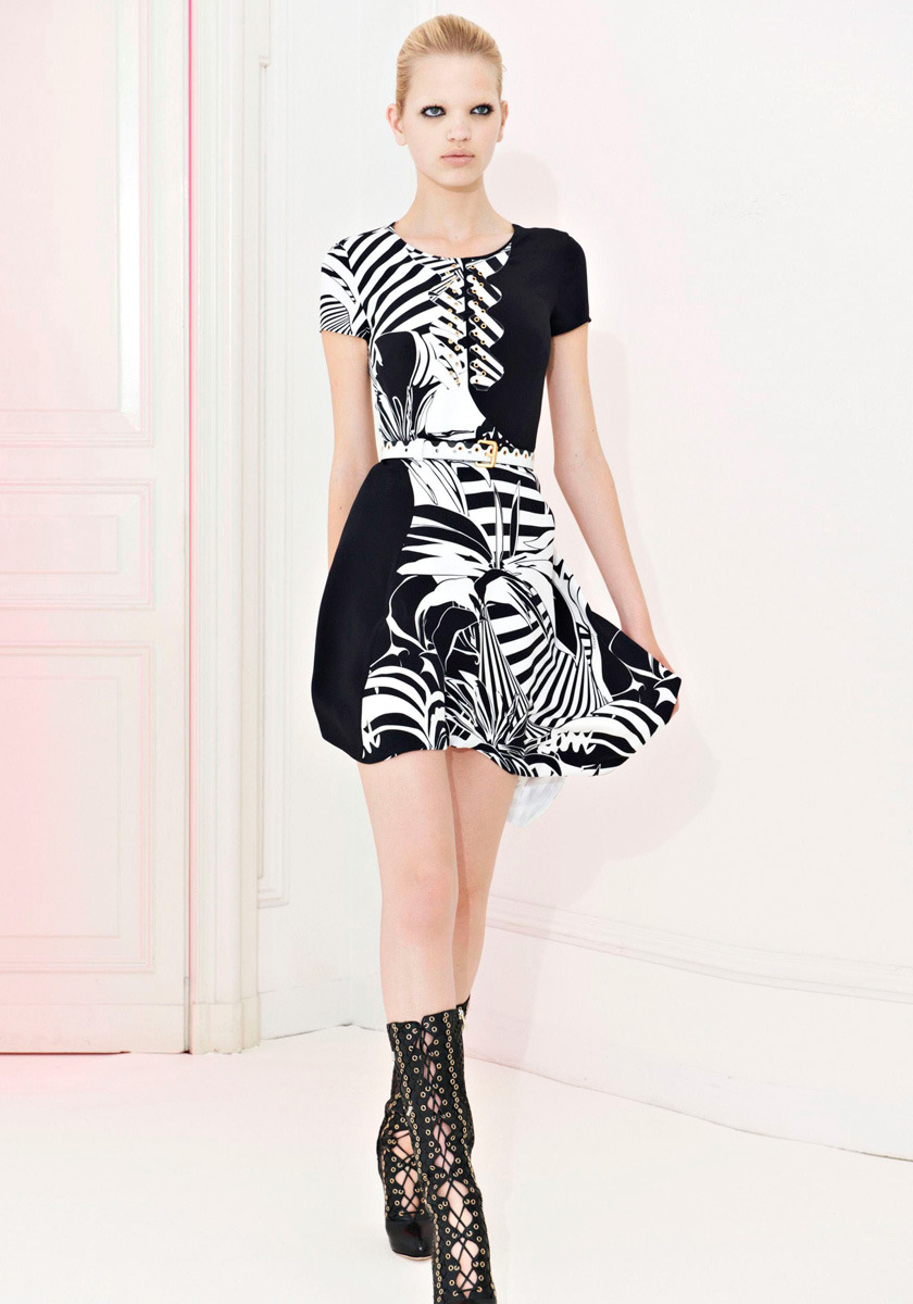 Versace Resort 2012 Photo: Courtesy of VersaceVisit Vogue.com for the full collection and review.