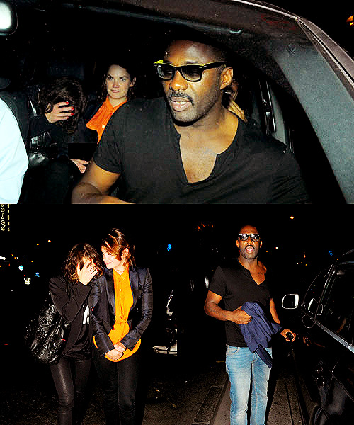flowerings | pandorea:   Idris Elba was pictured in London last night after a night  out partying with his 'Luther' co-star Ruth Wilson to celebrate their  series return to TV. The pair were spotted in the early hours of the morning leaving The  Box nightclub, no doubt toasting the success of the series as it debuted  at 5.6 million viewers on the BBC earlier this week. Elba, who recently starred in the hit film 'Thor', revived the role  once more in the four-part series which hit the screen on Tuesday (June  14). The crime thriller in which Elba stars as a troubled police detective  who deals with serial and serious crimes is achieving great success as  Neil Cross has announced that he will be releasing a prequel novel  called 'The Calling' in August.