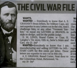 Civil Typography War or Early Graphic Design Smack Down!