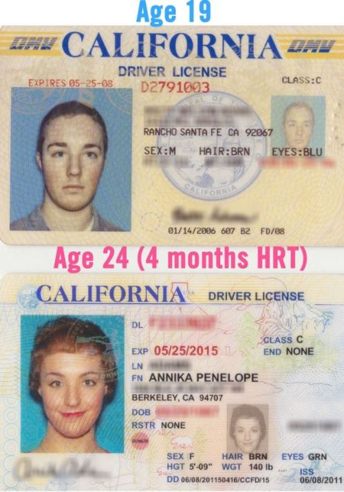 My new driver's license arrived in the mail yesterday! Here's a fun comparison with my ID from 5 years ago :D