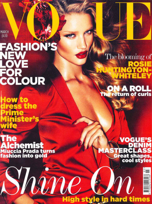 they.call.it.beauty - covers rosie huntington whiteley . vogue uk . march 2011