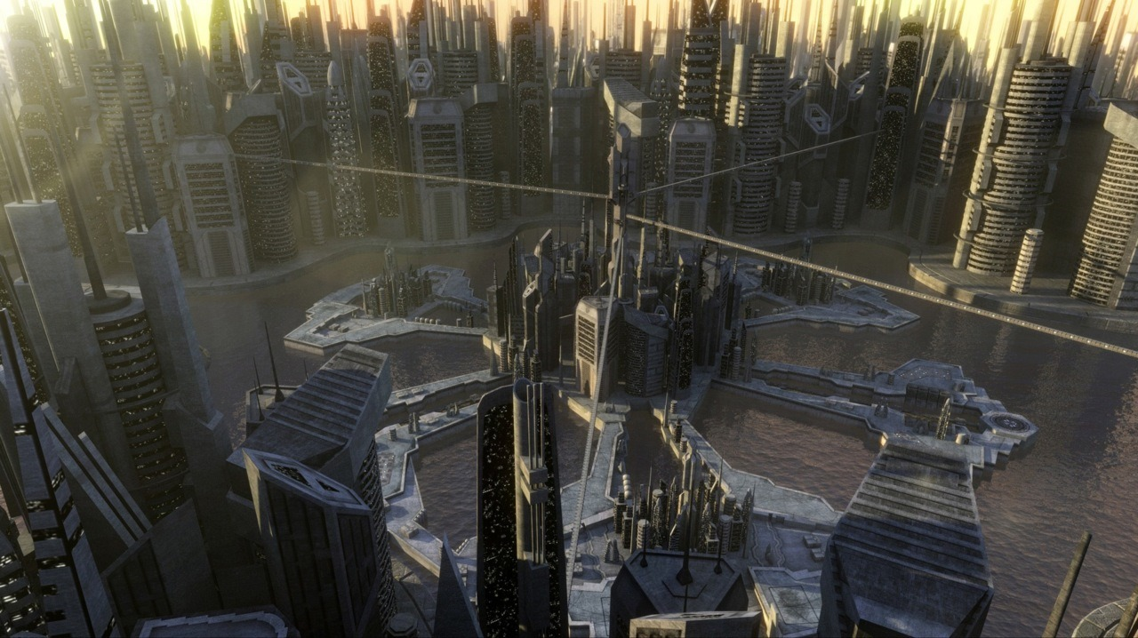 "Asuran Replicator City, from the SGA episode, ""Progeny"" by Chris Diston"