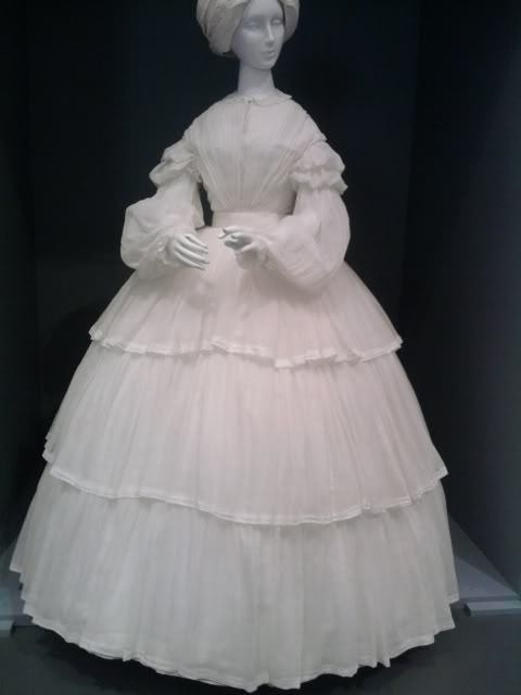Day dress, ca 1855 Europe, b0dice-g0ddess at the LACMA