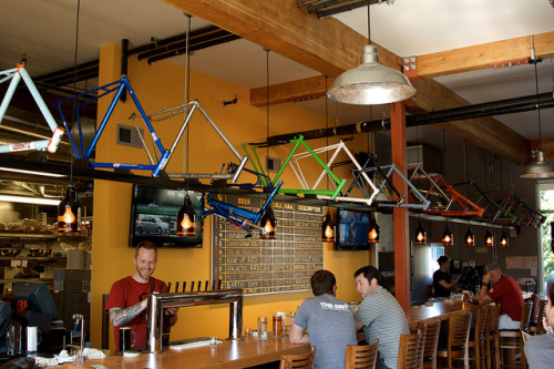 Hopworks Bike Bar by The Prudent Cyclist on Flickr.
