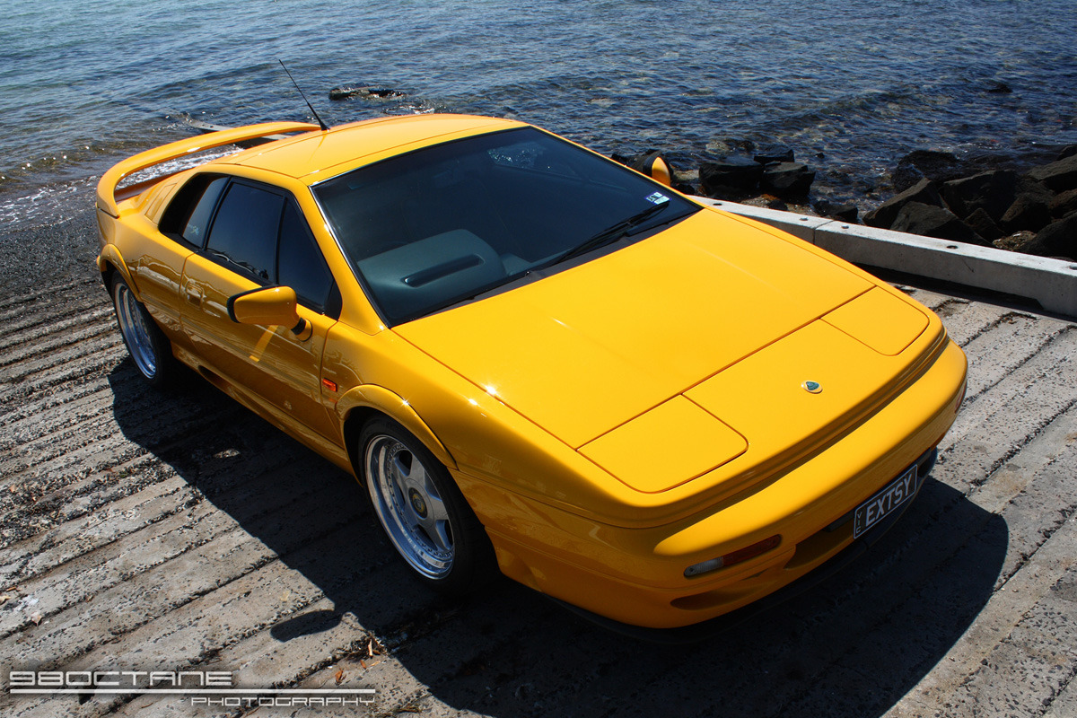 Last of the Pop-up Lights Lotus Esprit S4s Photo via 98Octane in Melbourne, Australia