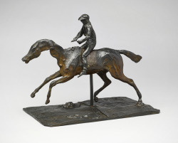 Horse with Jockey, 1878/1881 or early 1890s; cast 1919/1921 Edgar Degas (French, 1834 - 1917) bronze, sculpture