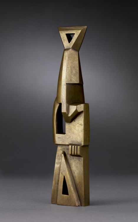 artgalleryofontario:Ornement Torpille, 1914Henri Gaudier-Brzeska (French, 1891 - 1915)cut brass, sculpture